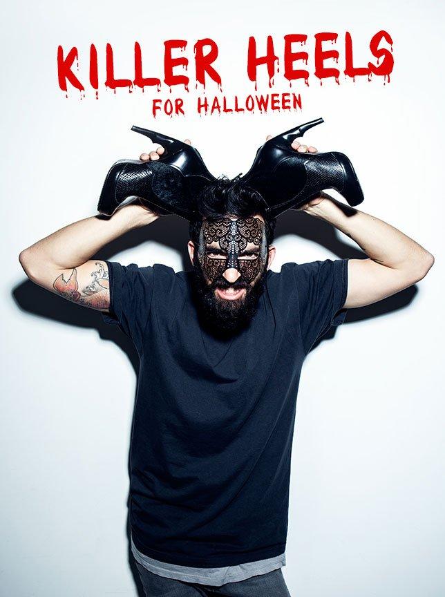 Killer Heels For Halloween | Shadow Bootie
