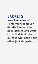 Jackets - New Pinnacles of Performance