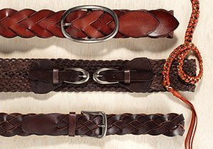 It's a Cinch: Braided Belts