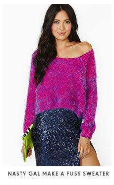 Nasty Gal Make A Fuss Sweater