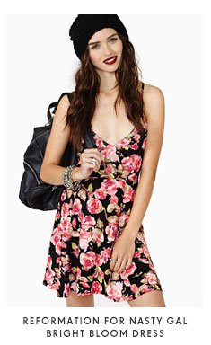 Reformation For Nasty Gal - Bright Bloom Dress