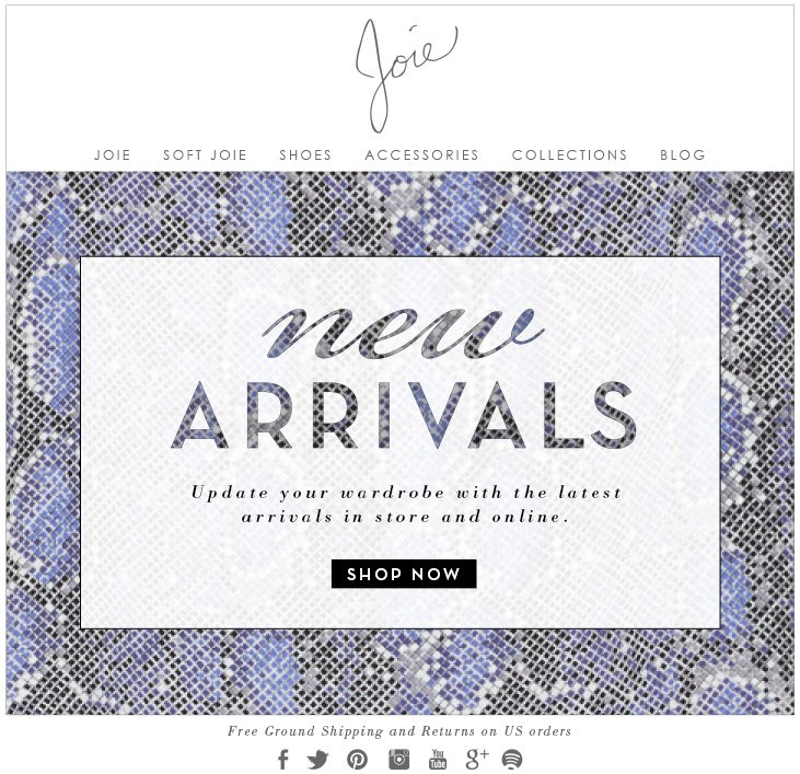 new arrivals Update your wardrobe with the latest arrivals in store and online. SHOP NOW