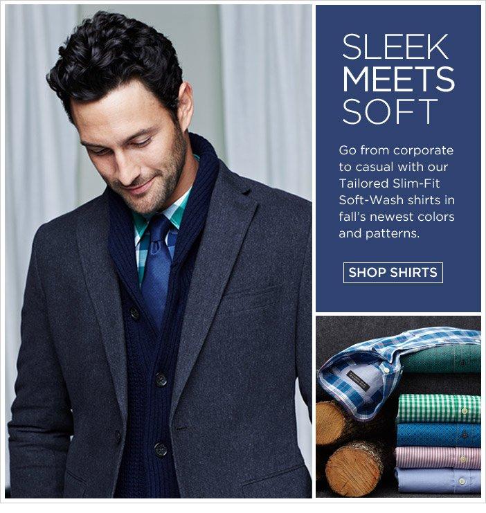 SLEEK MEETS SOFT | SHOP SHIRTS