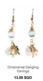 PARFOIS Ornamental Dangling Earrings