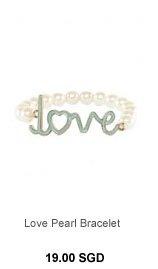 PARFOIS Love Pearl Bracelet