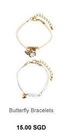 PARFOIS Butterfly Bracelets