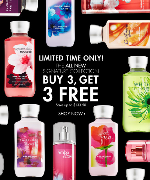 Signature Body Care – Buy 3, Get 3 Free