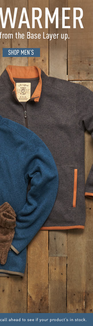 Shop Men's Sweaters and Fleece