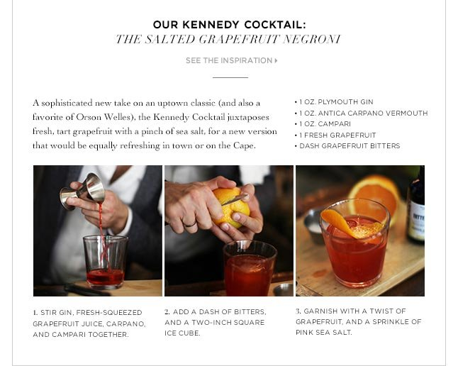 Our Kennedy Cocktail