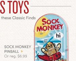 Sock Monkey Pinball