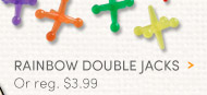 Rainbow Double Jacks