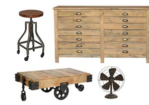 Industrial Chic Home Accents