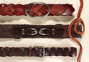It's a Cinch: Braided Belts