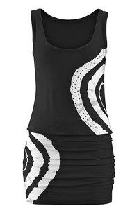 Venice Beach Black Rhinestone Dress
