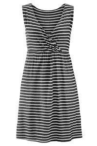 Beachtime Black Striped Beach Dress