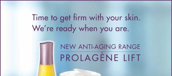 NEW ANTI-AGING RANGE PROLAGÈNE LIFT