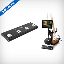 IK Multimedia iRig BlueBoard Bluetooth MIDI Pedalboard