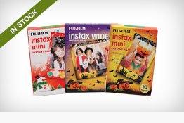 Fujifilm Holiday-Themed Instant Film Packs