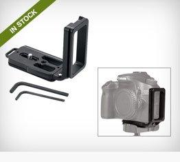 Kirk BL-70D L-Bracket for Canon 70D DSLR Camera