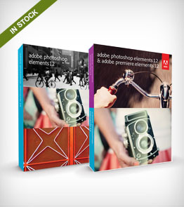 Adobe Photoshop and Premiere  Elements 12 Software for Mac and Windows
