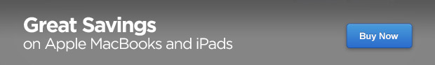 Great Savings on Apple MacBooks and iPads