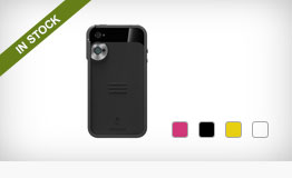 Trygger Camera Case for iPhone 4/4S