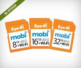 Eye-Fi 32GB SDHC Mobi Wireless Class 10 Memory Card