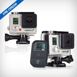 New and Improved GoPro HERO3+ Cameras