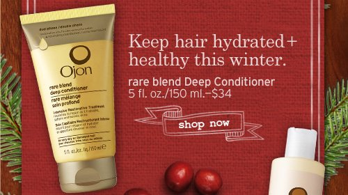 Keep hair hydrated plus healthy this winter rare blend Deep Conditioner SHOP NOW