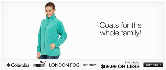 Coats for the whole family!