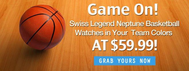Swiss Legend Neptune Basketball Watches