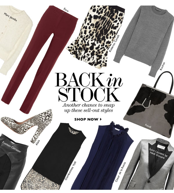 Back in Stock. Another chance to snap up these sell-out styles. SHOP NOW