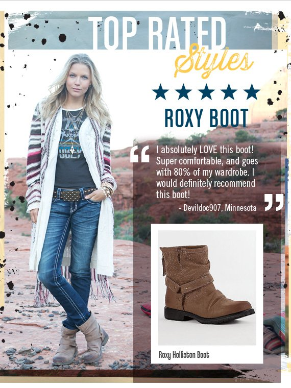 Roxy Holliston Boot