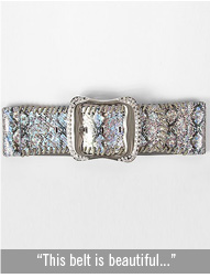 Daytrip Snake Print Belt