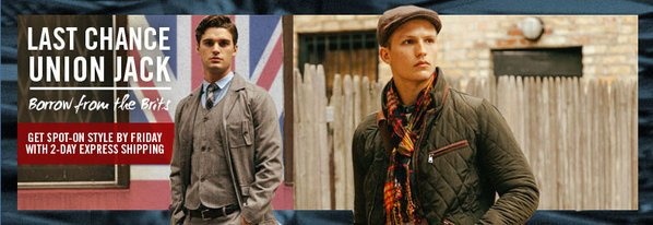 Shop Union Jack: London-Inspired Looks