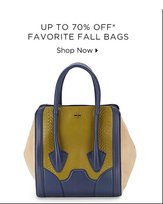 Up To 70% Off* Favorite Fall Bags