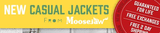 New Casual Jackets From Moosejaw