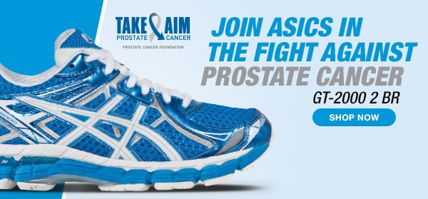 Join ASICS In the Fight Against Prostate Cancer - Shop the GT-2000 2 BR - Hero B