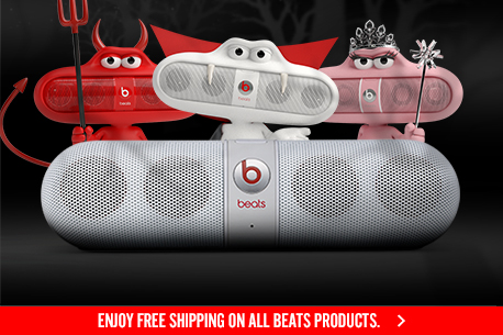 WAKE THE DEAD WITH BEATS PILL.