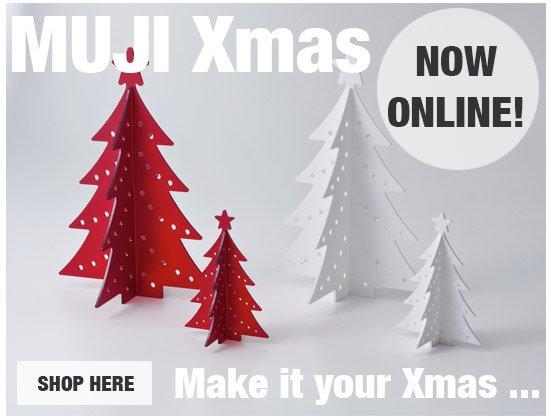 MUJI Xmas now online