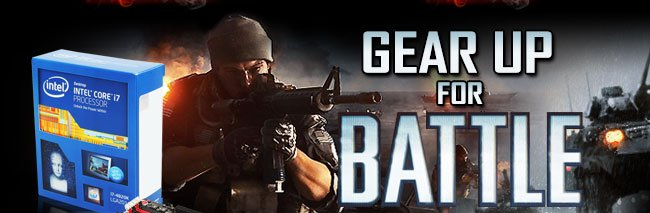 gear up for battle