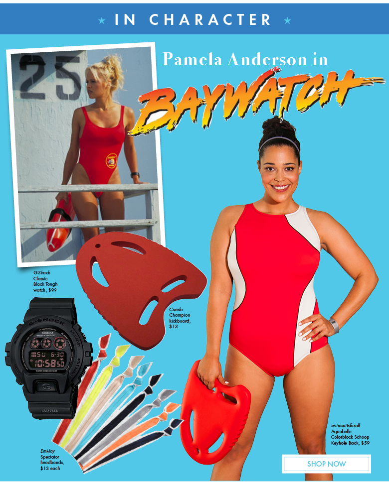 In Character: Pamela Anderson in Baywatch