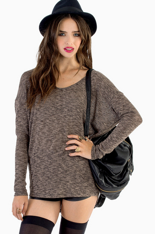 WHAT'S THE SCOOP NECK SWEATER 26