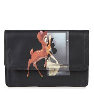 GIVENCHY - Bambi print leather clutch