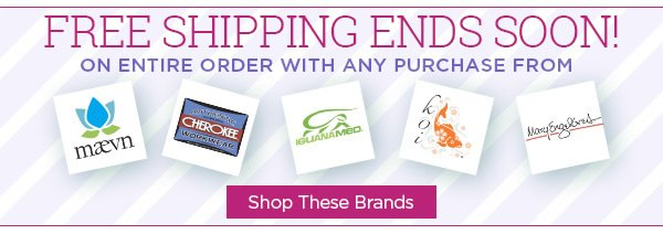 Free Shipping on Top Brands Ends Soon! - Shop Now