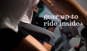 gear up to ride inside