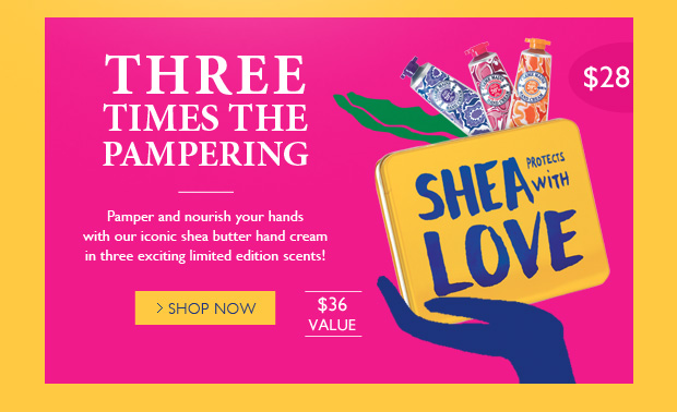 Shea Hand Cream Trio