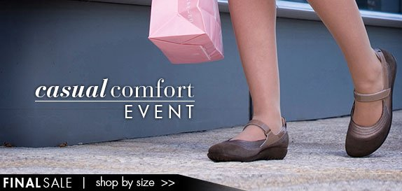 Casual Comfort Event