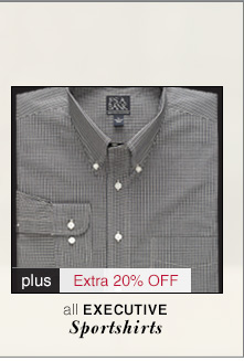 Executive Sportshirts - 60% Off* plus Extra 20% Off