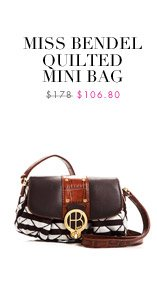 MISS BENDEL QUILTED MINI BAG